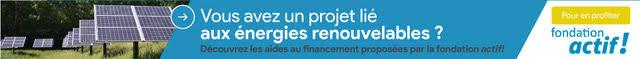 fondation actif energie renouvelables